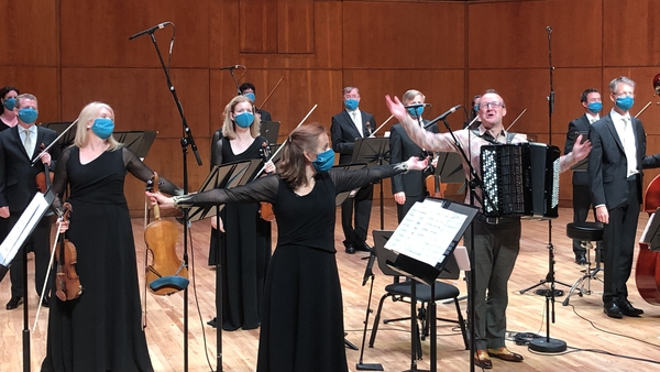 The orchestra performed at University Concert Hall in Limerick