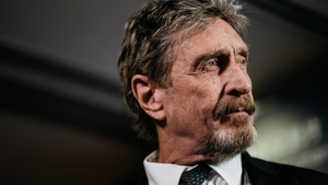 John McAfee made his fortune from creating the antivirus software that still bears his name