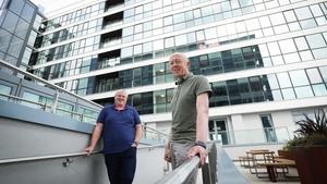 Paddy O'Hagan, Neueda Chief Executive Officer and Tom O'Connor, Version 1 CEO