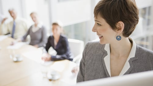 The CSO's latest Gender Balance in Business Survey shows that 30% of senior executives in large enterprises in Ireland were women, up from 28% in 2019
