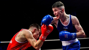 Dean Clancy (blue) is now European champion
