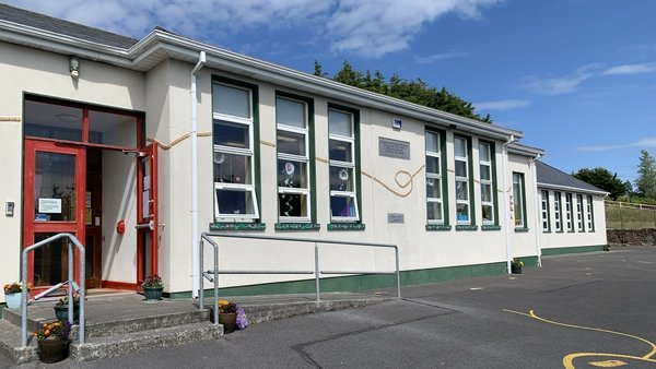 Four of the 26 children at Cuilmore National School finish tomorrow