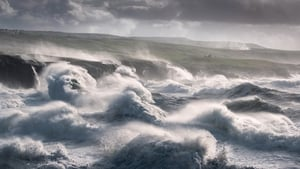 Felix Sproll captured waves crashing into the coastline at Doolin in Co Clare