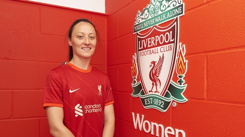 Megan Campbell has signed for Liverpool