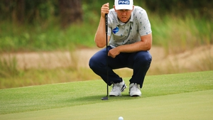 The Waterford native mixed six birdies with a pair of bogeys for his 66