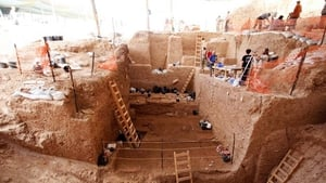 Excavations in the quarry of a cement plant near the central city of Ramla uncovered prehistoric remains that could not be matched to any known species from the Homo genus