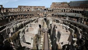 The Colosseum's 'hypogeum'