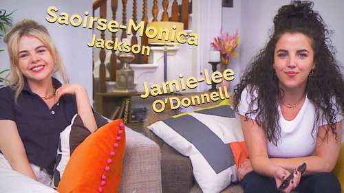 Saoirse-Monica Jackson and Jamie-Lee O'Donnell. Picture: @C4Gogglebox