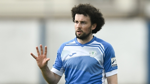 Barry McNamee missed from the spot
