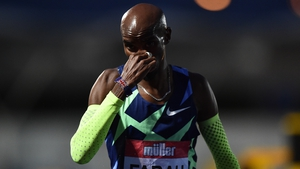 """Mo Farah: """"I'm very grateful but that's all I had today."""""""