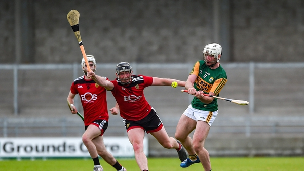 Barry O'Mahony of Kerry in action against Chris Egan of Down