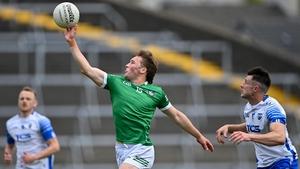 Hugh Bourke gathers possession for Limerick
