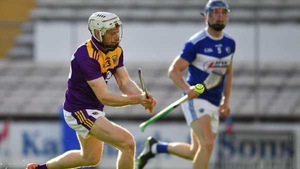 David Dunne scores the fifth goal for Wexford