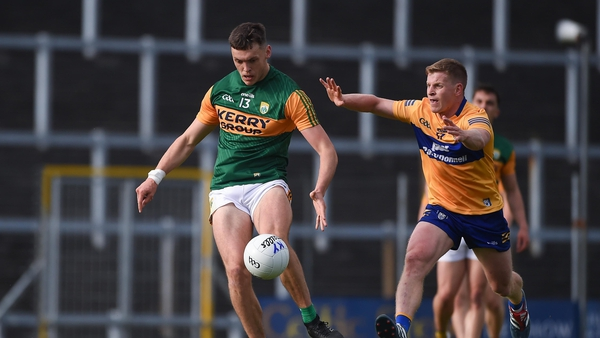 David Clifford stroked over 1-06 in Kerry's 17 point win over Clare