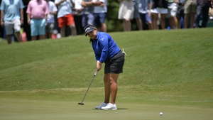 Lizette Salas was in blistering form at the Atlanta Athletic Club