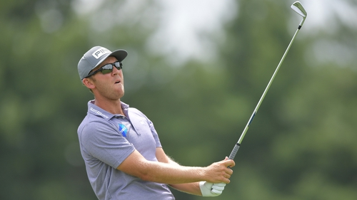 The Waterford native is just three shots off the lead