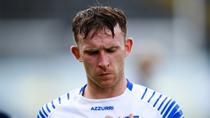 A dejected Shane McNulty after today's defeat