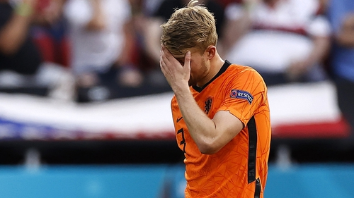 "Matthijs de Ligt: ""I shouldn't have let the ball bounce."""