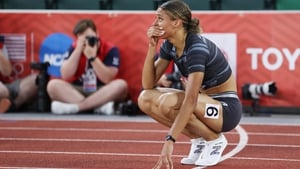 An emotional Sydney McLaughlin is struck by the magnitude of her achievement