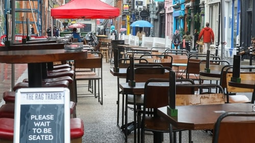 Micheál Martin said the Government will have a plan for reopening indoor hospitality by 19 July (Pic: RollingNews)