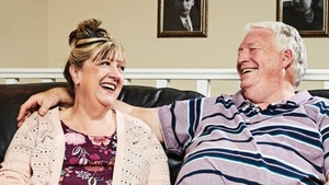 Gogglebox star Pete McGarry with his wife Linda