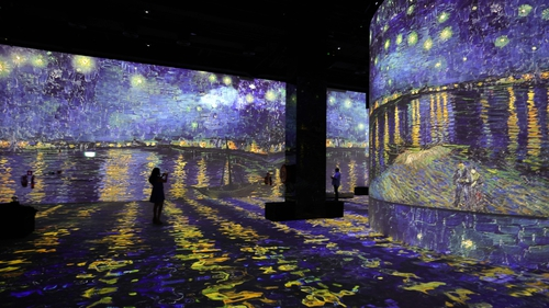 The Van Gogh exhibition will showcase digital displays of works from the Saint-Paul Asylum, Saint-Remy collection