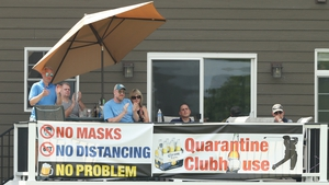 Fans watch the action at last year's 3M Open in Minnesota