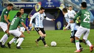 Lionel Messi had a night to remember at Arena Pantanal