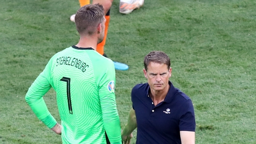De Boer's side won all three group games before falling short in the last-16