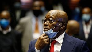 Jacob Zuma is serving a 15 month sentence for contempt of court