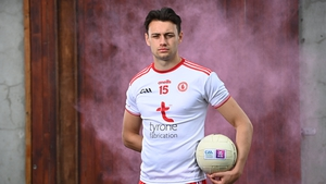 Paul Donaghy at AIB's launch of the All-Ireland SFC