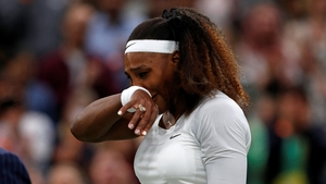 Serena Williams had to withdraw from Wimbledon