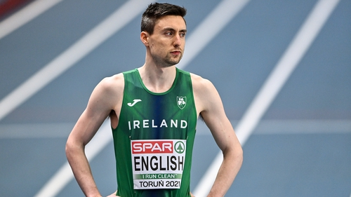 Mark English has booked his spot in Tokyo with a new Irish record