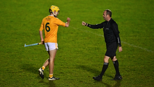 Daire Murphy of Antrim hit five of Antrim's tally, all from frees