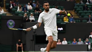 Nick Kyrgios is playing his first tournament outside Australia in 18 months