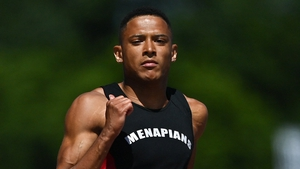 Leon Reid was an impressive winner of the 200m at the Irish Senior Athletics Championships in Santry on Sunday