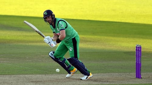 Ireland captain Andrew Balbirnie