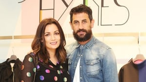 Louise Duffy and Paul Galvin Photo: RollingNews.ie