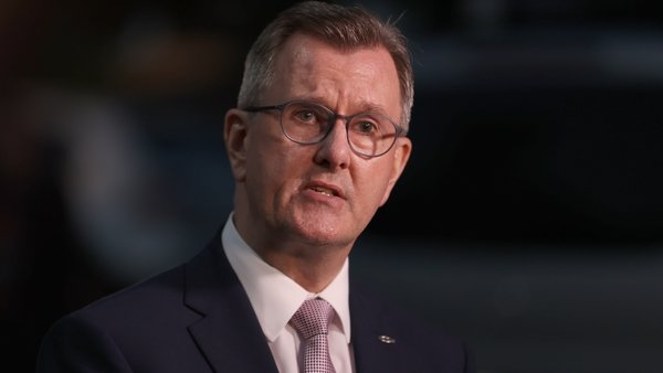 DUP leader Jeffrey Donaldson