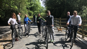 The greenway is designed to open up west Limerick to new businesses and tourism potential, and will eventually link up with the Kerry greenway