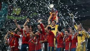 Spanish celebration in Kiev
