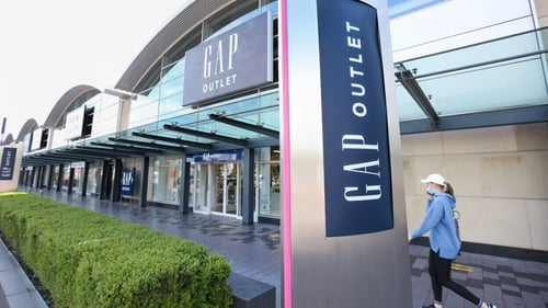 Gap's outlet store in Dublin (Pic: RollingNews.ie)
