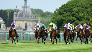 St Mark's Basilica winning the French Derby on 6 June