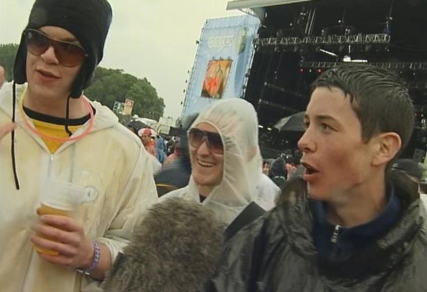 Festival Goers at Oxegen Music Festival (2006)