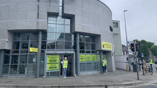 Covid test centre in Galway