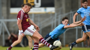 Ben McGauran, pictured above in a minor championship match against Dublin in 2019, scored 1-10 on the night