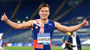 The 25-year-old twice world champion broke the record - which had lasted since 1992, four years before he was born - with a time of 46.70 seconds