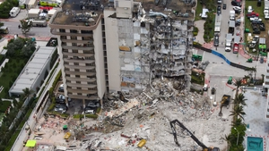 The building partially collapsed on 24 June