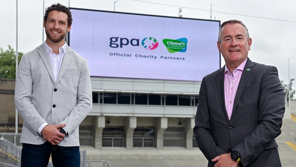 GPA chief executive officer Tom Parsons, left, and Cliona's Foundation chief executive officer Brendan Ring