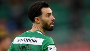 Richie Towell made his Rovers debut in a 3-1 win over his former team Dundalk